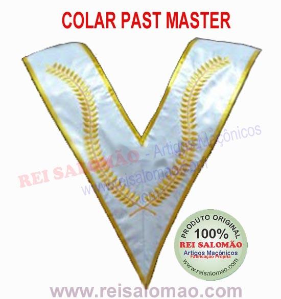 Colar Past Master-GOB