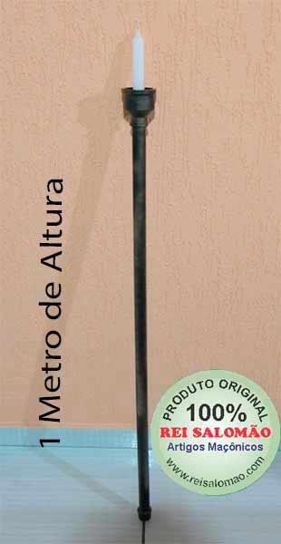 Bastão Estrela para vela PVC