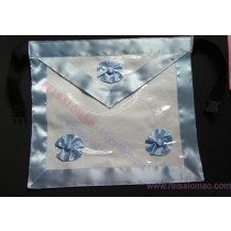Avental de Mestre Maçom Azul