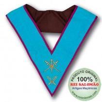 Colar de Mestre de Cerimônias Rito Memphis Misrain