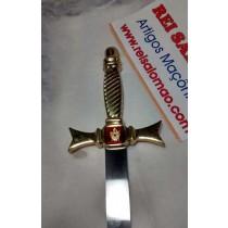 Espada Demolay - Cabo de Bronze