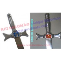 Espada Reta - Cabo de Aluminio