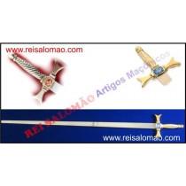 Espada Reta - Cabo de Dourado