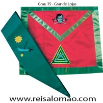 Paramento do Grau 15 REAA - GL