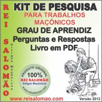 Kit Grau Aprendiz+Perg. Resp.+Livro Aprendiz PDF