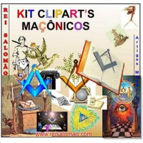 Kit Cliparts Maçônicos