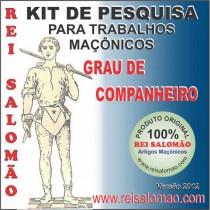 Kit Companheiro Maçom