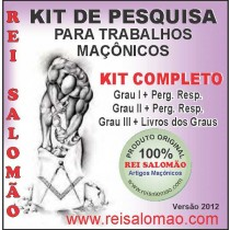 Kit Completo Maçonaria