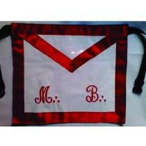 Avental de Mestre MB Vermelho