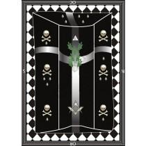 Painel Simbólico do Grau de Mestre - REAA - MOD. II