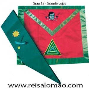 Paramento do Grau 15 REAA - GL