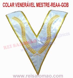 Colar Venerável Mestre-GOB