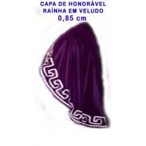 CAPA DE HONORÁVEL RAINHA 0,85 m