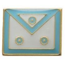 Pin Avental de Mestre Azul