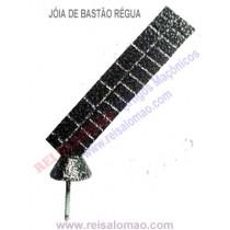 Jóia de Bastão Régua