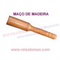 Maço em Madeira Maçonaria