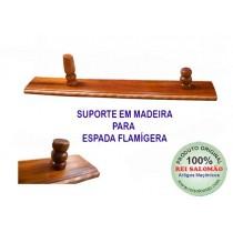 Suporte de madeira p/ Espada Flamígera