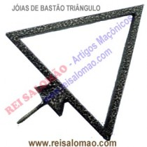 Jóia de Bastão Triângulo